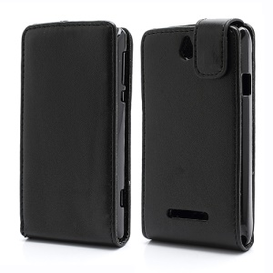 Vertical Flip PU Leather Case for Sony Xperia E Dual C1605 C1604 Xperia E C1505 C1504