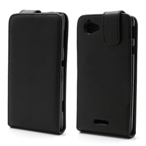 Magnetic Vertical Flip Leather Protective Case for Sony Xperia L C2105 C2104 S36h