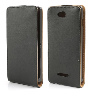 Magnetic Vertical Flip Leather Case for Sony Xperia C C2305 S39h