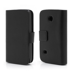Doormoon Wallet Style Genuine Leather Cover Case for Huawei Ascend II M865 C8650