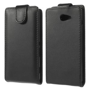 For Sony Xperia M2 D2306 / M2 Dual D2302 Magnetic Vertical Flip Leather Case