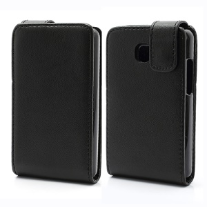 Vertical Flip Leather Magnetic Case for LG Optimus L3 II E430 E425
