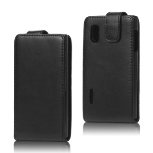 Vertical Leather Case Cover for LG Optimus L5 E610 E612