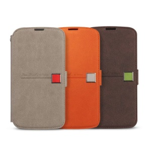 Zenus Masstige Color Point Leather Wallet Case for LG Google Nexus 4 E960