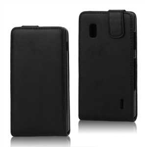 Magnetic Leather Vertical Flip Case for LG Optimus G E970