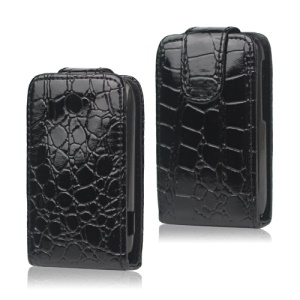 Crocodile Leather Case Cover for HTC Explorer A310e / Pico