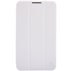 Nillkin Sparkle Series Tri-fold Stand Wake Sleep Smart Leather Cover for ASUS Fonepad 7 FE170CG - White