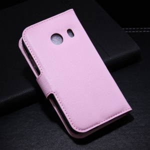 Pink for Samsung Galaxy Ace Style G310 Litchi Leather Wallet Stand Cover