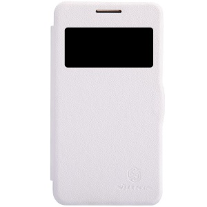 Nillkin Fresh Series Window View Leather Flip Cover for Samsung Galaxy Core 2 Dual SIM G355H - White