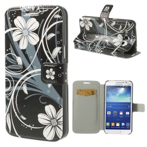 Beautiful Flowers for Samsung Galaxy Grand 2 Duos G7102 G7105 Magnetic Leather Stand Case