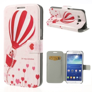 Lovers on Hydrogen Balloon for Samsung Galaxy Grand 2 Duos G7102 G7105 Flip Leather Cover