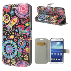 Colorful Patterns for Samsung Galaxy Grand 2 Duos G7102 G7100 Flip Leather Case Cover