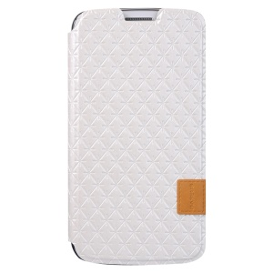 Baseus Brocade Series Leather Card Slot Cover for Samsung Galaxy Grand 2 Duos G7102 G7100 - White