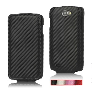 Carbon Fiber Leather Hard Case for Samsung Galaxy W GT-I8150