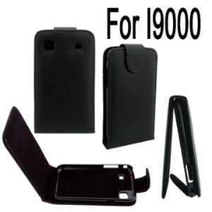 Vertical Leather Case for Samsung Galaxy S i9000//i9001/Vibrant T959/T959V