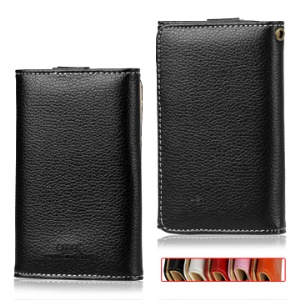 Wallet Leather Case with Snap Fastener for Samsung I9100 Galaxy S2 / II