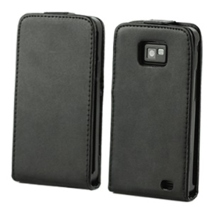 Samsung I9100 Galaxy S 2 Vertical Leather Case with Magnetic Flip