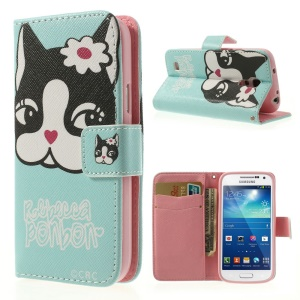 Rebecca Bonbon Wallet Leather Case Bracket for Samsung Galaxy S4 mini i9190 i9192 i9195