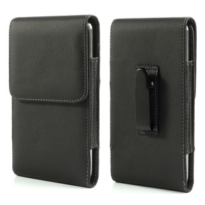 Vertical Belt Clip Leather Holster Pouch for Samsung Galaxy Mega 6.3 I9200 I9208