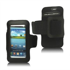 Fashion Sport Gym Armband Case for Samsung Galaxy S 3 / III I9300 I747 L710 T999 I535 R530 - Black
