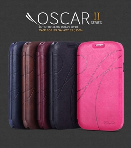 KLD Oscar II Series Card Slot Leather Stand Case for Samsung Galaxy S3 III I9300