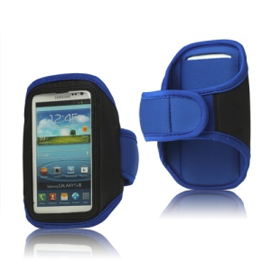 Sport Gym Armband Case for Samsung Galaxy S 3 / III I9300 I747 L710 T999 I535 R530 - Blue