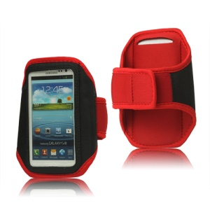 Sport Gym Armband Case for Samsung Galaxy S 3 / III I9300 I747 L710 T999 I535 R530 - Red