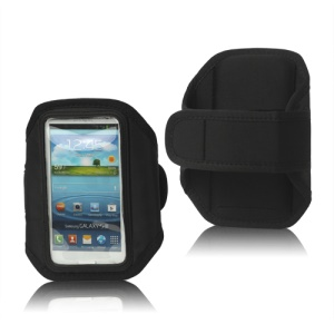 Sport Gym Armband Case for Samsung Galaxy S 3 / III I9300 I747 L710 T999 I535 R530 - Black