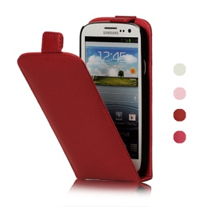 Genuine Leather Case Cover for Samsung Galaxy S 3 / III I9300 I747 L710 T999 I535 R530