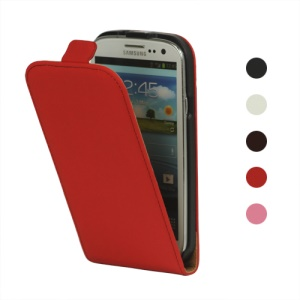Durable PU Leather Flip Case for Samsung Galaxy S 3 / III I9300 I747 L710 T999 I535 R530