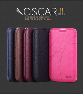 KLD Oscar II Series Card Slot Leather Stand Case for Samsung Galaxy S4 i9500 i9505 i9502