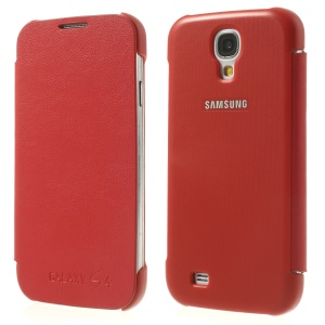 Red Leather Protective Case for Samsung Galaxy S4 I9505 I9502 I9500
