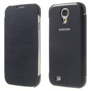 Dark Blue Flip Leather Phone Case for Samsung Galaxy S4 I9505 I9502 I9500