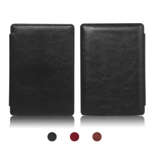 Book Style Premium Leather Case Cover for Amazon Kindle 4 4th Generation;Red