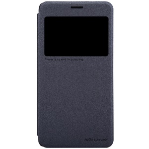 Nillkin Sparkle Series View Window Leather Case for Lenovo S850 - Black