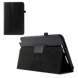 Lychee Flip Leather Case Cover for ASUS VivoTab Note 8 M80TA w/ Stand