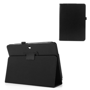Black PU Leather Stand Case for ASUS MeMO Pad 10 ME102A