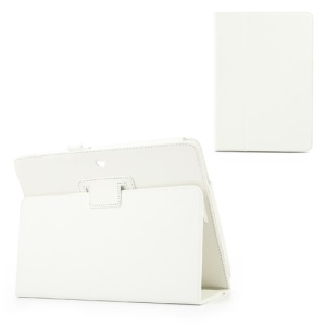White PU Leather Stand Case for ASUS MeMO Pad 10 ME102A