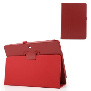 Red PU Leather Stand Cover for ASUS ME102A MeMO Pad 10