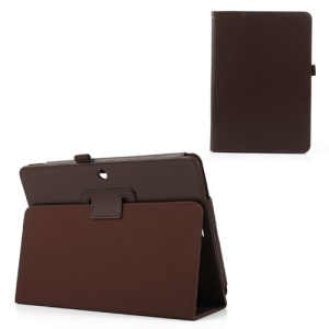 Brown PU Leather Stand Cover for ASUS MeMO Pad 10 ME102A