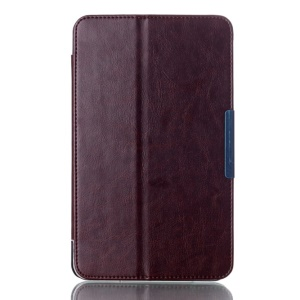 Crazy Horse Magnetic Leather Case for ASUS MeMO Pad 8 ME181C w/ Stand - Coffee