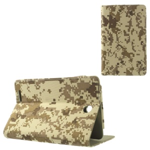 Desert Camo Camouflage Stand Leather Protector Case for ASUS Fonepad ME371