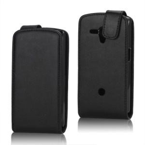 Magnetic Leather Flip Cover Case for Sony Xperia neo L MT25i