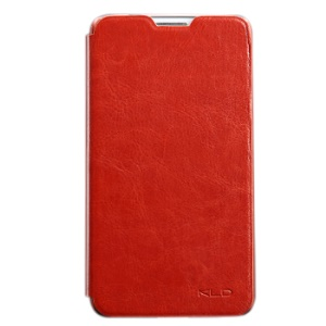 Red KLD England Series for Samsung Galaxy Note 3 Neo N750 N7502 Leather Flip Case