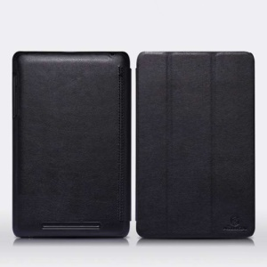 Nillkin Smart Wakeup Leather Wallet Case for ASUS Google Nexus 7 + LCD Film