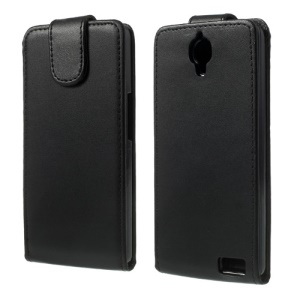 Vertical Flip Leather Case for Alcatel One Touch Idol X 6040 6040A 6040D 6040E / TCL S950