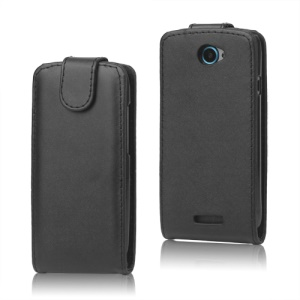 Magnetic Leather Flip Case for T-Mobile HTC One S Z520e