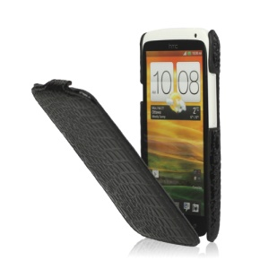 Crocodile Leather Case Cover for HTC One X S720e / One XL / One X Plus