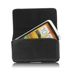 Leather Belt Clip Holster Pouch Case for HTC One X XL One X Plus / Samsung I9250