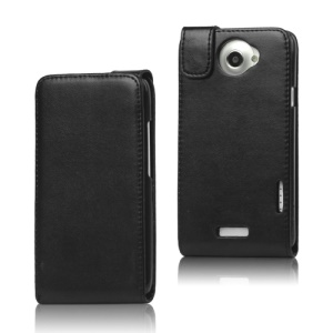 Vertical Leather Flip Cover for HTC One X S720e / One XL / One X Plus